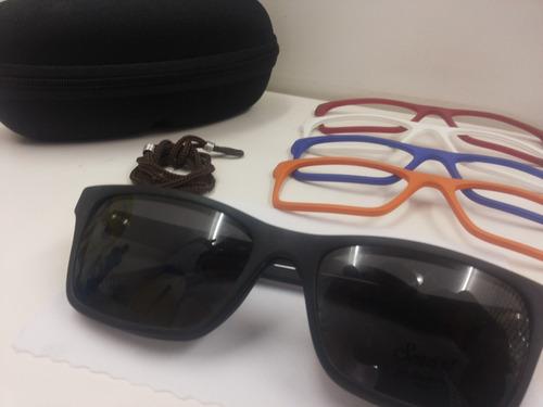 cea5aa53e04b2 Lançamento Armação Para Óculos Smart Acetato Troca-frente. Preço  R  198  Veja MercadoLibre