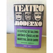 Livro Teatro Moderno - Três Peças