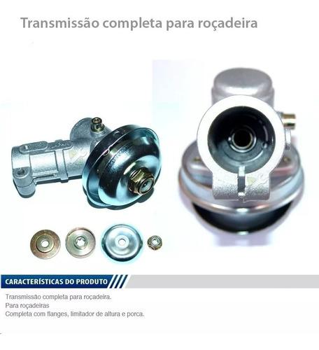 Transmissão Ponteira Roçadeira - Universal 28mm 9 Estrias