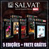 Pacote Marvel - 5 Salvat Capa Preta - Promoção Frete Grátis