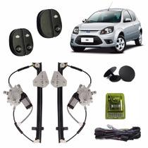 Kit Vidro Eletrico Ford Ka C/ Modulo Inteligente