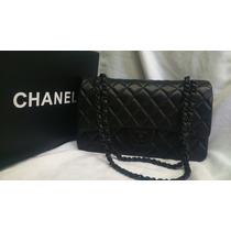 Bolsa Chanel 2.55 Couro Legítimo Black