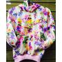 Blusa Adidas Floral Moletom Original Toda Hora Vende