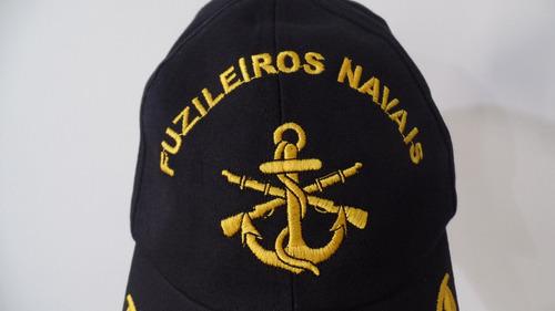 70f24bac987cd Boné Chapeu Fuzileiros Navais Marinha Para Oficial Unico Ml. R  39.9