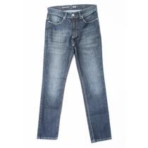 Calça Jeans Stile Masculina Cor Azul Oqlevar
