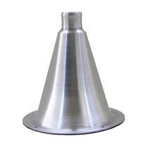 Cone Corneta Jarrão Em Alumínio Polido Para Driver * Rosca