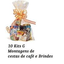 40 Kits G Montagem Cesta De Café Manhã Com Bauducco E Saches