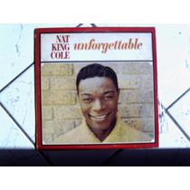 Lp Vinil Nat King Cole - Unforgettable Emi - Capitol - 1991
