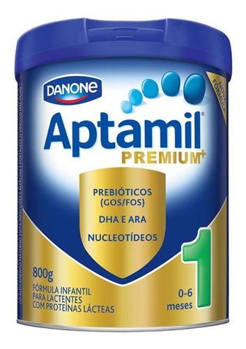 Fórmula Infantil Em Pó Danone Aptamil Premium 1 Em Lata De 800g