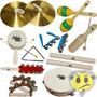 Bandinha 10 Instrumentos Dolphin Kids - Loja Kadu Som