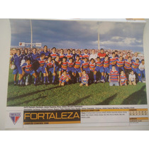 Fortaleza Campeão Cearense 2000 Poster Placar Avulso