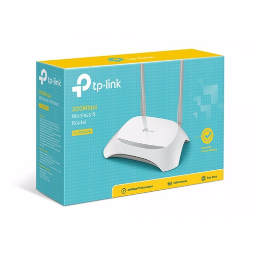 Roteador Wireless Tp-link Tl-840 300mbps - 2 Antenas 5 Dbi
