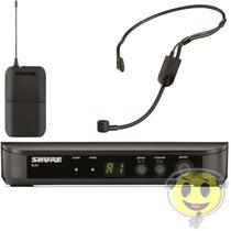 Microfone Sem Fio Shure Headset Blx14br / Pga31 - Kadu Som