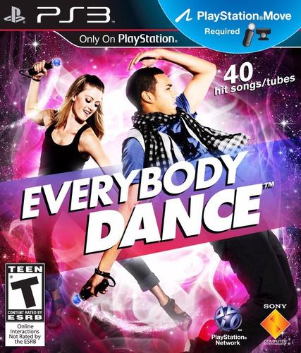 Everybody Dance Ps3 Lacrado Mídia Física Sony Pronta Entrega