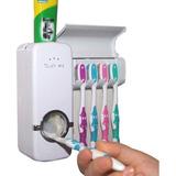 Dispenser Automático Pasta De Dente Com Suporte Escovas