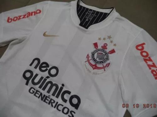 Camisa Do Corinthians 2010 Centenário - Oficial Nike - Tam P 28dd3e2dbff49