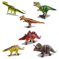 Kit Coleção Dinossauro C/ 6pç Mundo Jurássico Zoop Toys