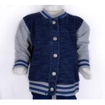 Jaqueta Jeans Moletom Infantil Hering Kids College 54bj1a07