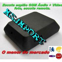 Micro Escuta Espiã Gsm Filmadora E Microfone X009 Original