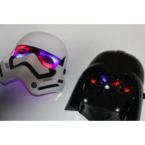 Mascara Star Wars Com Luz - Lançamento - Und