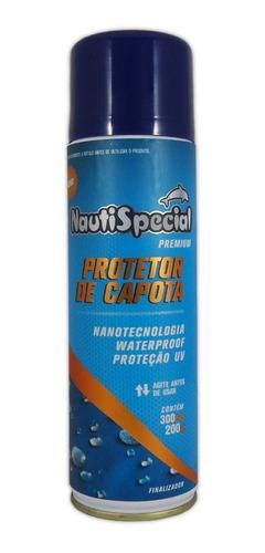 Protetor De Capota Spray Nautispecial 300ml Repelente D Água