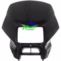 Carenagem Do Farol Nxr Bros 150 04/08 Preto Kallu Motos