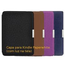 Capa Kindle Paperwhite Slim Fit Fecho Magnético Case Rígida