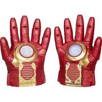 Luva Eletrônica + Máscara Eletrônica Homem De Ferro - Hasbro