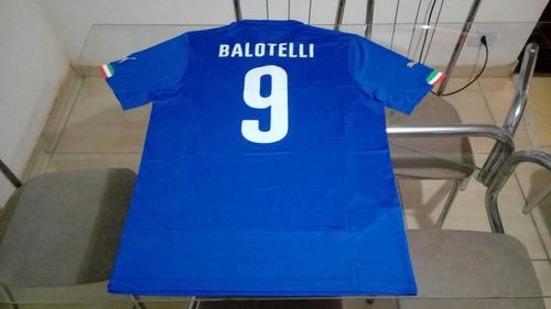 Camisa Oficial Puma Seleçao Futebol Italia Uefa Balotelli b8ed155c1c9f7