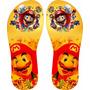 Chinelo Super Mario (personalizado Up Idea)