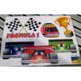 Kit Decorativo Com Enfeites - Fórmula 1 / Corrida