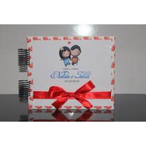 Álbum Fotos Scrapbook Personalizado 4 Mod Namorados Casais