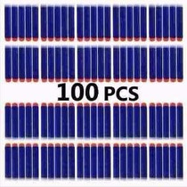 Refil Munição Dardos Nerf Hasbro Azuis Kit 100 Unidades