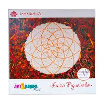 Quebra Cabeça Mandala 1000 Peças Art Games