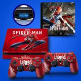 Skin Adesivo Playstation 4 Slim Spider-man Homem-aranha