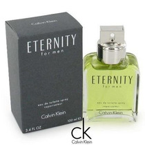 Perfume Eternity Masculino 100ml Edt 100% Original Promoção.