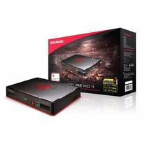 Placa De Captura Gravador Video 1080p Hdmi Game Capture Hd 2