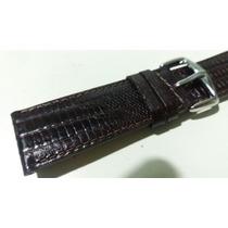 Pulseira Croco Relógios - 24mm Tommy Tissot Seiko Armani
