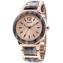 Relógio Euro Feminino - Eu2035lwu/4t - Frete Grátis