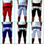Bermuda Shorts Saruel Sumemo Kit C/4 Peças Unissex