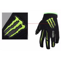 Luva Esportiva Monster Moto Bike Trilha Motocross Enduro