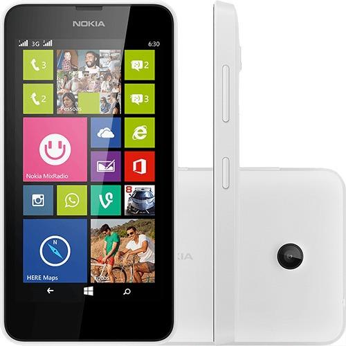 Celular Smartphone Microsoft Lumia 630 Dual Chip Branco