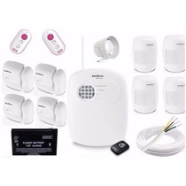 Kit Alarme Intelbras Residencial Casa Comercial Com Infrave
