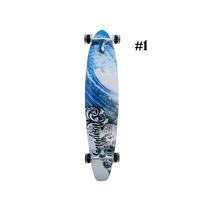 Skate Longboard Shape Madeira Rodas Rolamento Abec 7