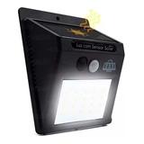 Luminária Solar Com Sensor De Presença - Envio Em Poucas Hs