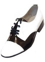 1360f2992b Sapato Artístico Masculino Claudiu´s Ref. 352 Branco Preto