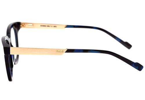 Evoke Volt 06 - Óculos De Grau G21 Black Marble Temple Gold d7bdec2ca0