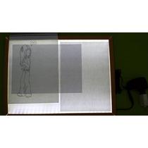 Mesa De Luz Led A3 Desenho Comic Tatoo Foto Ilustração Arte