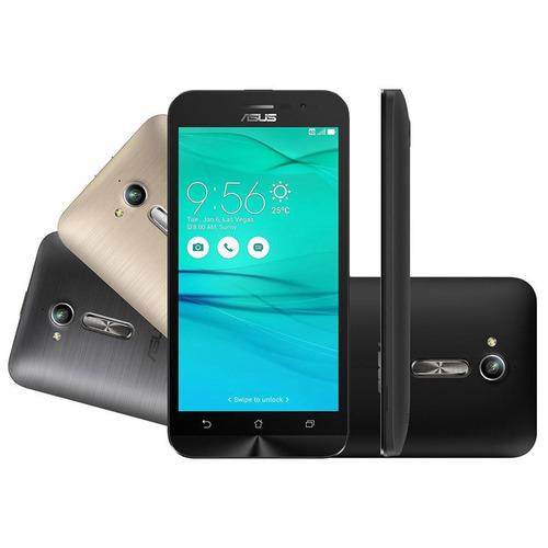 Oferta Celular Zenfone Go Colors Preto 2 Chips 12x Sem Juros