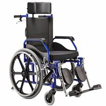 Cadeira De Roda Fit Reclinavel Baxmann